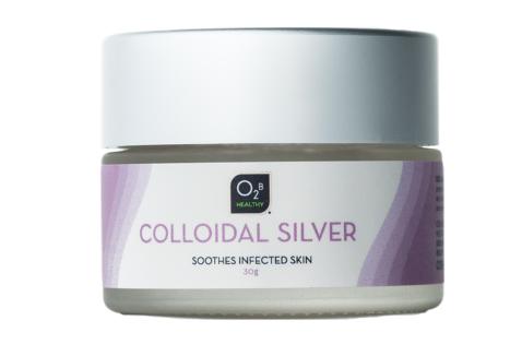 Colloidal Silver natural antibacterial cream