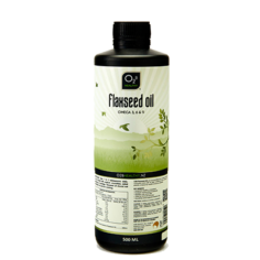O2B Flaxseed Oil 500 Ml